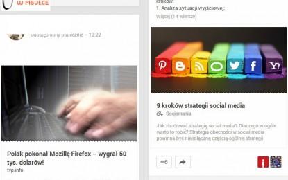 Google+ poprawia atrakcyjność wpisów z linkiem.