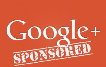 Rusza promocja postów w Google+