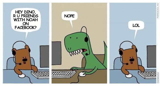 Dinozaury wyginęły przez Facebooka? Jeden ocalał!