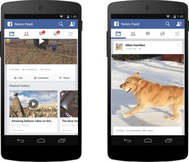 wideo facebook