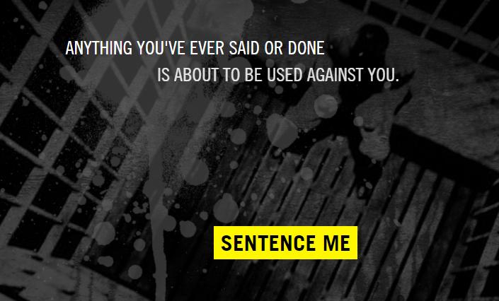 Sentence me